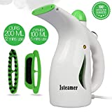 Handheld Iron Steamer Travel Iron Steamer Wrinkle Remover for Clothes/Garment/Fabric Steamer Clean Sterilize and Steamer Garment and Soft Fabric 4-in-1 Powerful Iron Steamer Portable, Compact-Travel