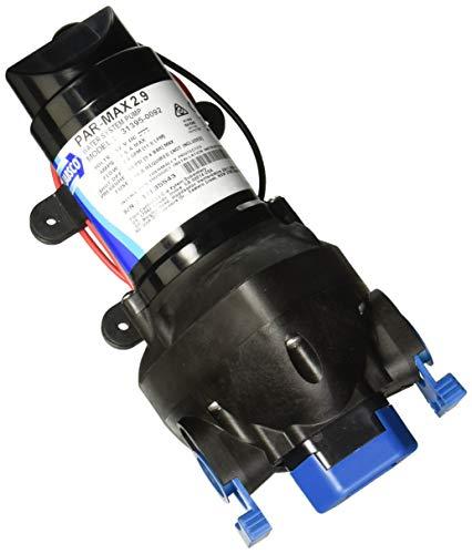 Jabsco 31395-0092 Marine ParMax 2.9 Water System Pump (2.9-GPM, 50-PSI, 12-Volt), Black