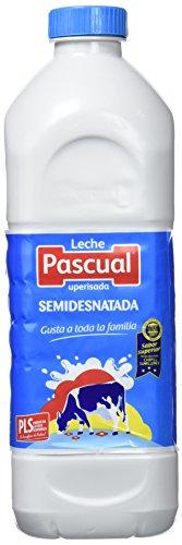 Pascual Leche Semidesnatada - Paquete de 6 x 120 cl - Total: 720 cl