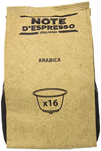 Note D'Espresso Cápsulas de Café Arábica Exclusivamente Compatibles con cafeteras de cápsulas Nescafé* y Dolce Gusto* 96 Unidades da 7g, Total: 672 g