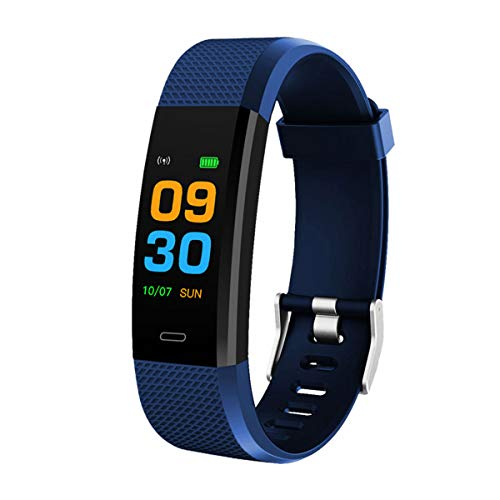 Bingo F0s Smart Fitness Band, Color Display, Waterproof (Blue)