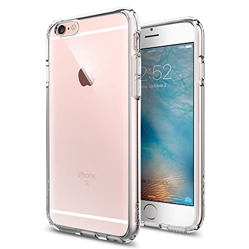 Spigen Cover iPhone 6S, Cover iPhone 6 Ultra Hybrid Progettato per iPhone 8/7 Cover Custodia - Crystal Clear
