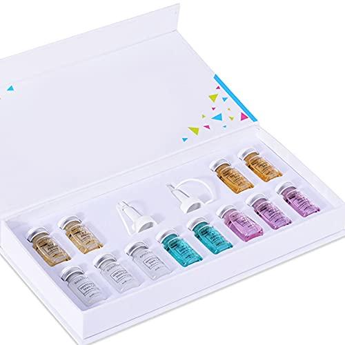 Ouken Fundación De Lucha contra El Acné Esencia La Base Líquida Crema BB Glow Starter Kit Behandling Blanquear Anti Arrugas con Esencia De Cara para La Piel Style1