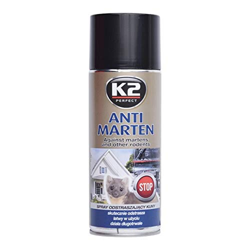 K2 Anti Marder Spray, Marderabwehr, Marderstopp, Marderschreck, Marderschutz Auto 400ml