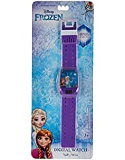 Disney Frozen Girls Labyrinth Play Digital Dial Wristwatch - SA7112 Frozen-A