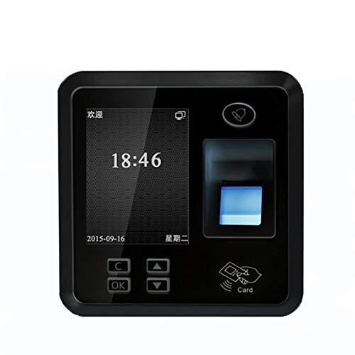 HEQIE-YONGP Timeuhren für Mitarbeiter Kleinunternehmen Leicht zu installierende Smart-Fingerabdruck-Anwesenheits-Clock Gerät mit unabhängigem Zutrittskontrollsystem