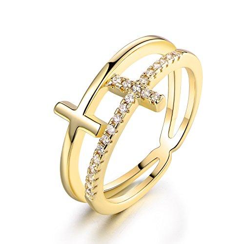 double cross ring - 2