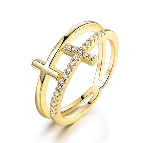 double cross ring - 7