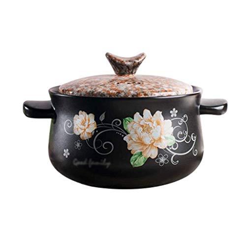 Diaod La cerámica de la cazuela, Estilo Chino Piedra Olla, Sopa de Olla Alta Temperatura, Fuego Abierto cazuela de Barro Rice Pot Salud de cerámica