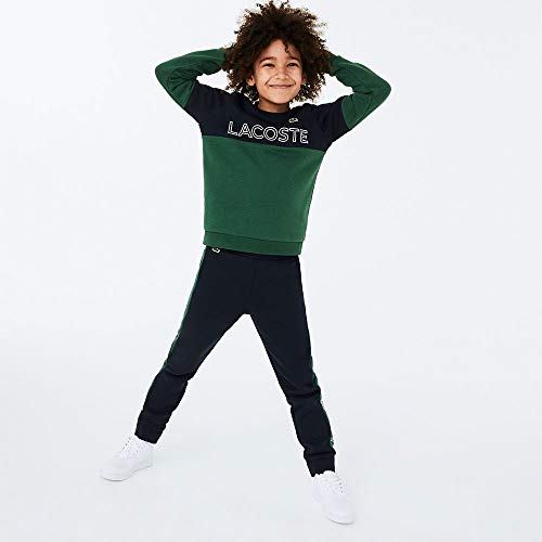 Lacoste Sport Sj1159 Suéter, ABIMES/Vert-Blanc, 4A para Niños