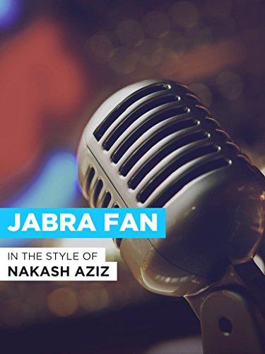 """Jabra Fan in the Style of """"Nak…"""