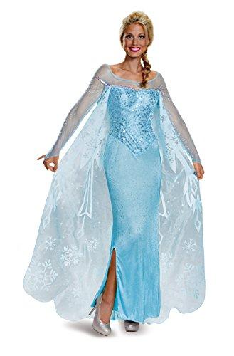 Disguise Frozen Adult Elsa Prestige Costume - Multiple Sizes