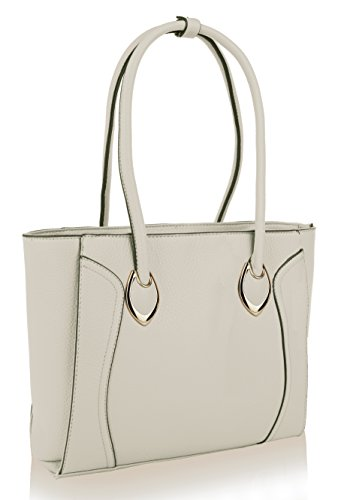Mia K. Collection Tinsley Tote Shoulder Bag by Mia K.