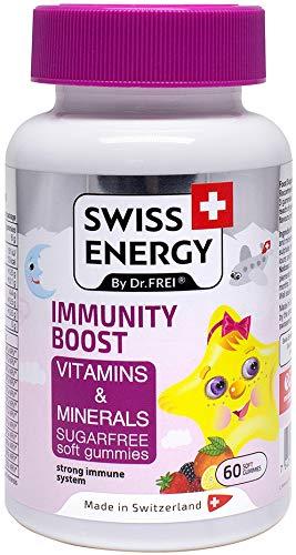 Immunity Boost, Vitamins and Minerals, Sugar-Free Soft Gummies