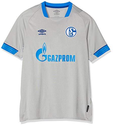 UMBRO Kinder FC Schalke 04 Away SS Jersey, grau, YS