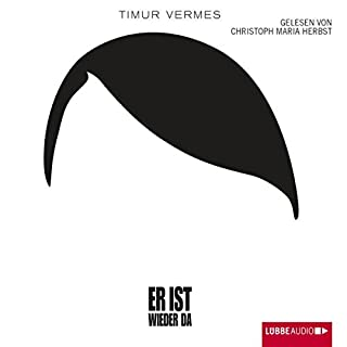 Er ist wieder da                   Written by:                                                                                                                                 Timur Vermes                               Narrated by:                                                                                                                                 Christoph Maria Herbst                      Length: 6 hrs and 51 mins     2 ratings     Overall 4.0