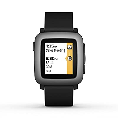 Pebble Time Smartwatch (Certified Refurbished)