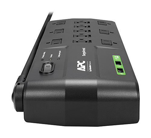 APC 11-Outlet Surge Protector Power Strip (P11U2)
