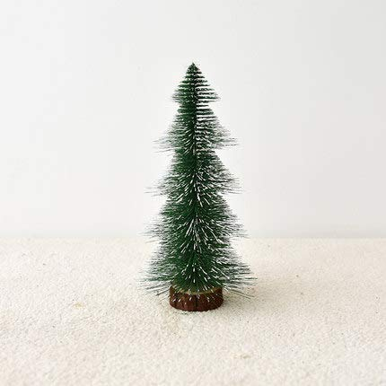 Kaikai Cedar Mini Christmas Tree Christmas Home Decorations Tabletop Presents 25cm I