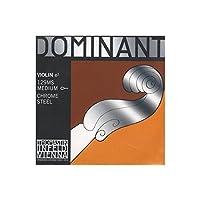 Dominant No.129MS ヴァイオリン弦 クロムスチール E線ループループエンド(4/4)
