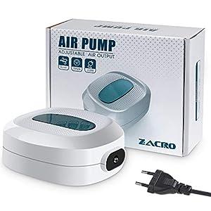 Zacro-25w-Aquarium-Luftpumpe-3l-min-Durchfluss-Druck-15-kPa-Sauerstoff-Luftpumpe-Geeignet-fr-Swasser-und-Meerwasseraquarien-Wei