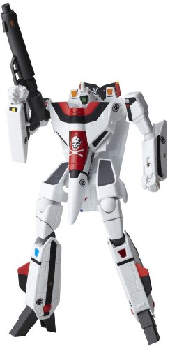 Macross Robotech Revoltech #082 Super Poseable Action Figure VF1A Valkyrie Do You Remember Love Version (japan import)