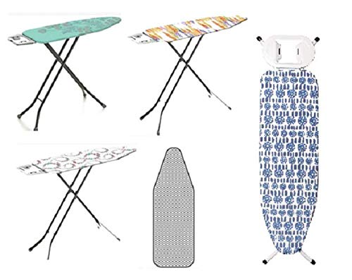 HOMION Lightweight Folding Ironing Board Small/Medium/Large/Extra...