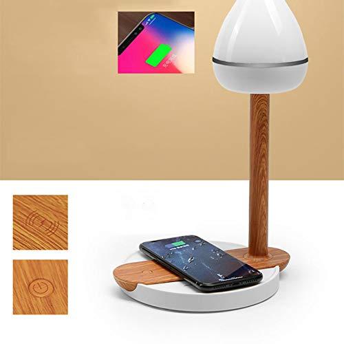 QYRL Touch bureaulamp met QI draadloze mobiele telefoon laadstation studentenoogbescherming leeslamp voor iPhone XS Max voor Samsung S9