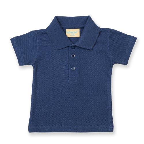 Larkwood Larkwood Baby/Toddler Polo Shirt SIZE 18-24 COLOUR Navy