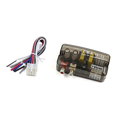 Hohe wiederum niedrig 2 RCA Ausgang Auto Audio Lautsprecher Verstärker Impedanzwandler DE de
