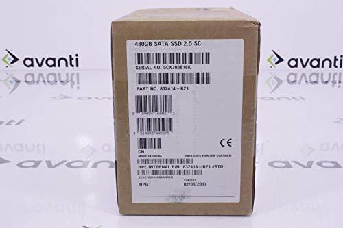 Hewlett Packard Enterprise 832414-B21#0D1 Unidad de Estado sólido 480 GB Serial ATA III 2.5