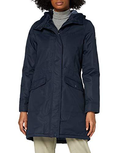 Regatta Damen Rimona Waterproof Breathable Taped Seams Insulated Lined Hooded Jacket Jacke, Navy, 40