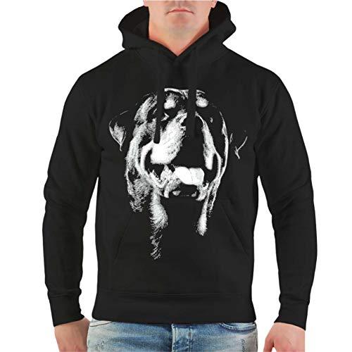Spaß kostet Männer und Herren Kapuzenpullover Rottweiler Hoodie mit Kapuze
