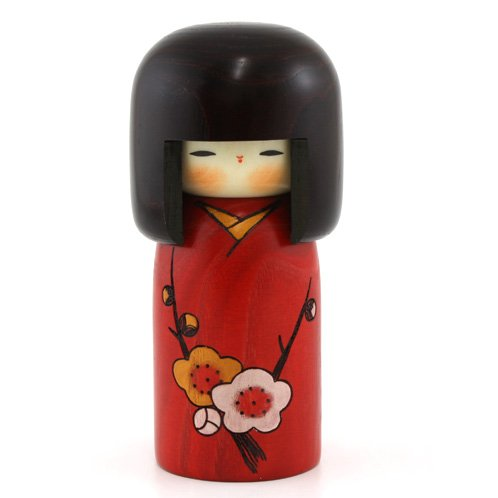 "Kokeshi-Figur, UK-29 ""Hana no Uta"" aus Japan"