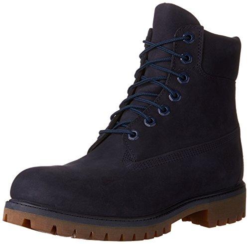Timberland AF 6in Prem BT Dk BRN NB 10001–Stivali di Pelle per Uomo Blu Size: 41 EU