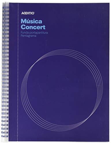 Additio Concert - Cuaderno de música, colores aleatorios