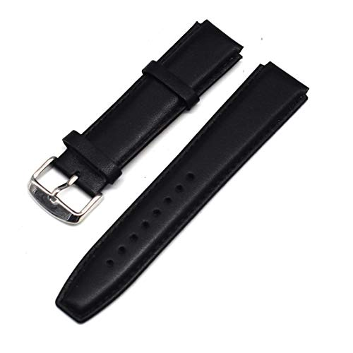 MOTONG 18mm Genuine Leather Repalcement Band for Huawei Watch 1st and Huawei Fit
