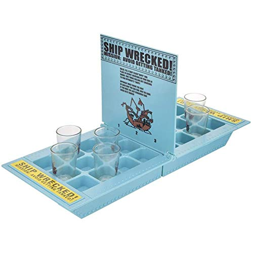 Bar drinken spelbord plastic Innovative piratenschip bar wijn beker drinken spel Party Family Group Entertainment wijnglas piratenschip bar spel,Blue