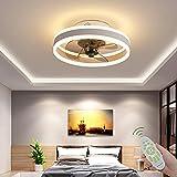 Plafoniera LED Con Ventilatore 6 Velocità Regolabili E 3 Colori Chiari Regolabili Timing...