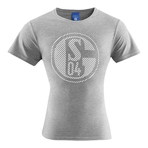 FC Schalke 04 T-Shirt Classic Grau Gr. XL