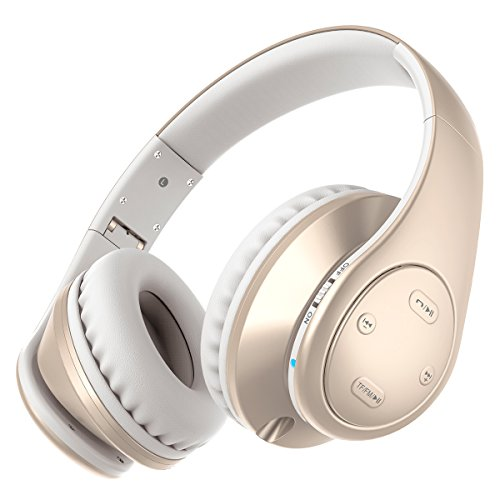 Picun P7 Bluetooth Headphones Wireless Foldable Noise Reducing Headsets With Mic and Volume Control for Kids Adults