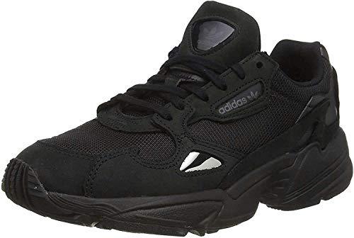Adidas Falcon W - Zapatillas de Deporte para Mujer, Negro (Negbás/Gricin 000) 38 EU