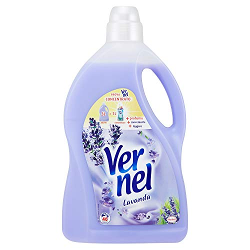 Vernel–Laundry Weichspüler, Lavendel–3000ml