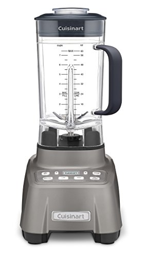 Cuisinart CBT-1500 Hurricane blender is revved and ready to go. The professional power 2, 2.25 Peak, Gun Metal