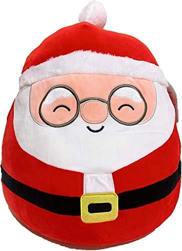 """SQUISHMALLOWS Kellytoy 2020 Christmas Squad Plush Toy (16"""" Nick The Santa Claus)"""