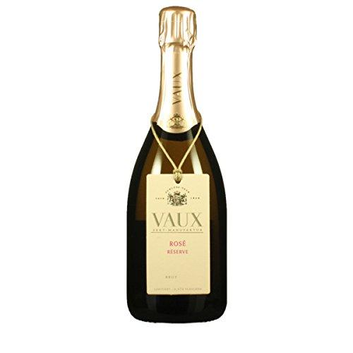 Sekt Manufaktur Vaux 2015 ROSE Reserve Brut Schloss Vaux Brut 0.75 Liter