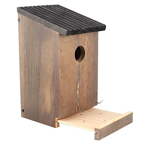 SHYEKYO Nido De Pájaro, Artículo Suave A Prueba De Humedad De La Casa del Pájaro De La Textura para El Jardín