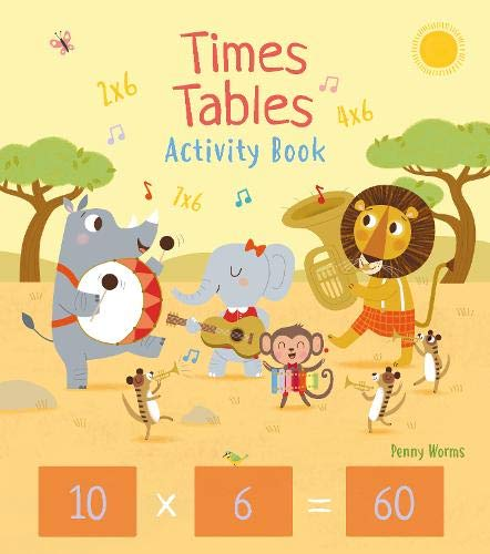Times Tables Activity Book (Arcturus Maths Skills Workbooks)