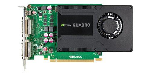 Fujitsu S26361-F2222-L201 NVIDIA Quadro K2000D Grafikkarte (16x PCI-e, 2GB GDDR5, 2X DVI-I, dual link)