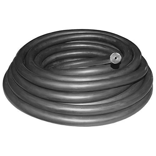 Tubo de Goma de la cámara Fusil Banda Honda Tubo de látex Natural de Caucho elástico de la catapulta al Aire Libre Negro